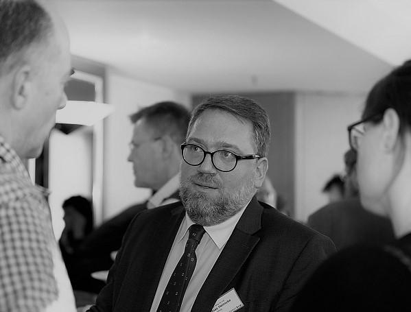 Neu gewähltes Vorstandsmitglied Mathias Heinicke unterwegs für den bvvp